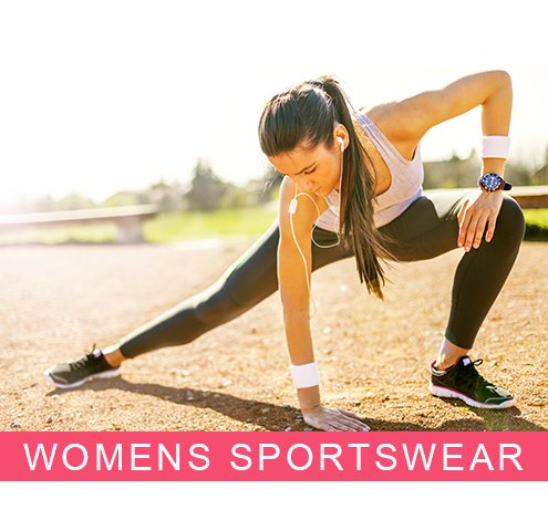 Womans Sports Look