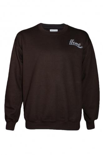 FFOMO Clive ffomo Embroidery Dark chocolate Sweatshirt