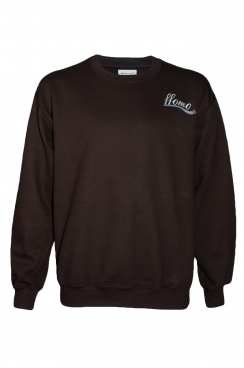 Clive ffomo Embroidery Dark chocolate Sweatshirt