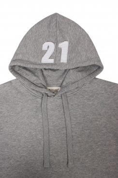 Alexander Applique Hood Patch Pullover Hoodie