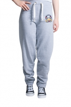 Amelia London  Embroidered Grey Jogger