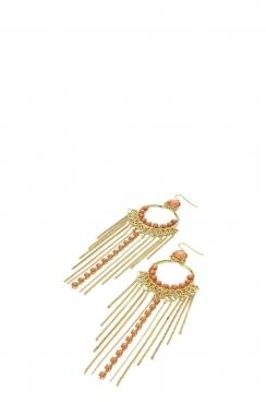Bead Chain Earring
