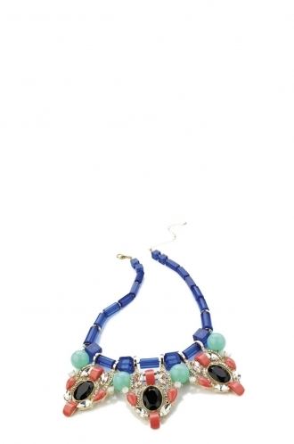 FFOMO Bead Chain Multi Colour Necklace