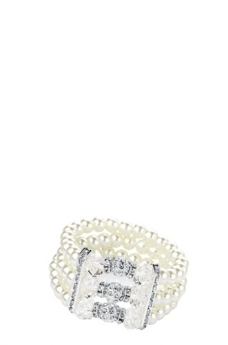 FFOMO Bead Crystal Bracelet
