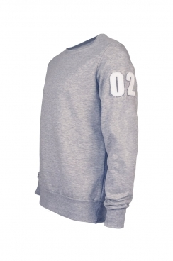 Ben 02 Applique Arm Patch Sweatshirt