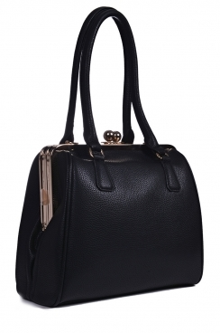 Black Doblong Framed Bag