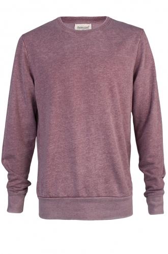 FFOMO Bobby Simple Faded Burgundy Sweatshirt