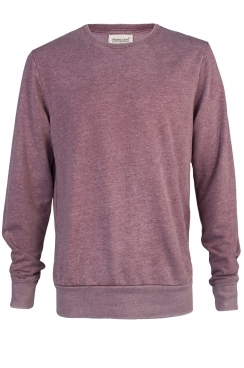 Bobby Simple Faded Burgundy Sweatshirt