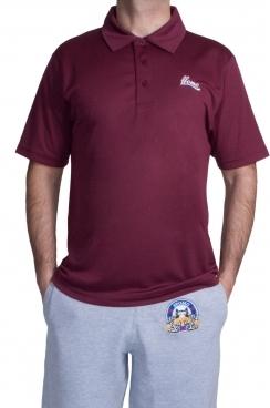 Burgundy Sports T-shirt