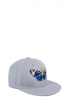 Butterfly Embroidered Unisex Snapback