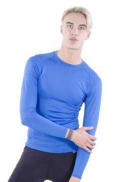 Carter long sleeve skin tight tee