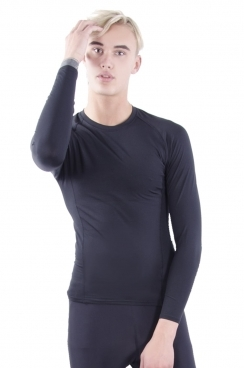 Carter long sleeve skin-tight tee