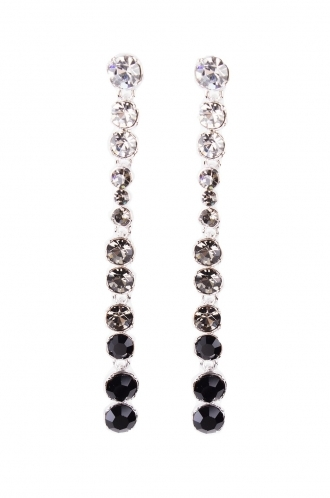 FFOMO Crystal Chandelier Earrings