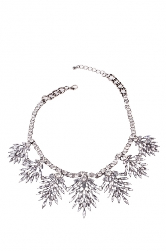 FFOMO Crystal Statement Necklace