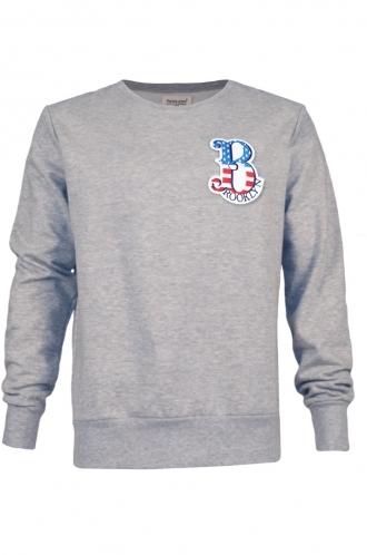 FFOMO Daniel Brooklyn Embroidered Patch Sweatshirt