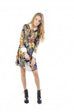 Dara Collar Shift Dress