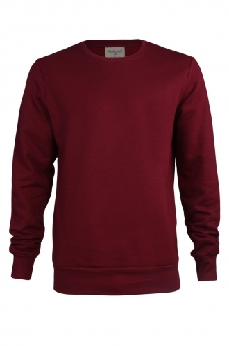 FFOMO Dave Simple Burgundy Sweatshirt