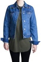 FFOMO Dayana Trucker Exclusive Embroidery Denim Jacket