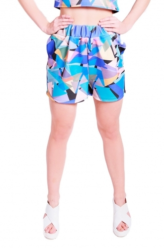 FFOMO Demi triangle shorts