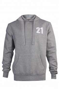 Dylan 21 Applique Patch Pullover Hoodie