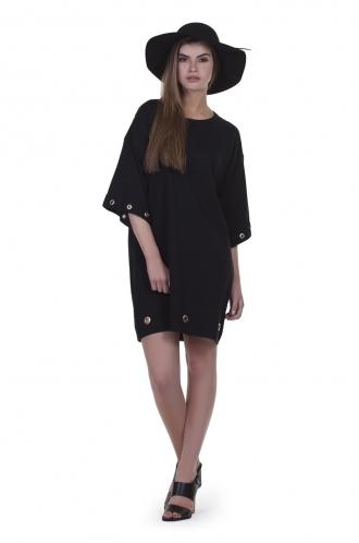 FFOMO Ella eyelet oversize shift dress