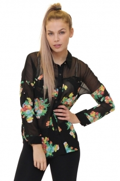Elly Floral Blouse