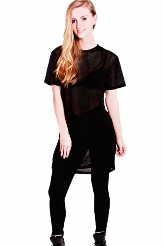 FFOMO Emma Airtex t-shirt Dress