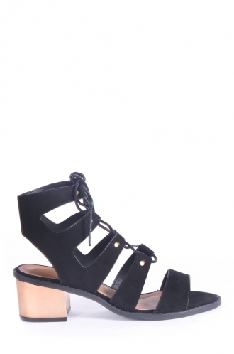 FFOMO Emma lace up heeled sandals