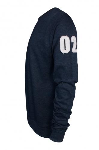 FFOMO Ezra 02 Applique Arm Patch Navy Sweatshirt