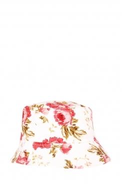 Finn, Floral bucket hat.