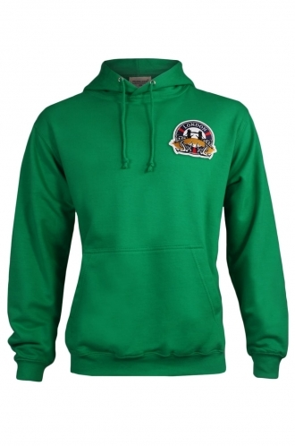 FFOMO Frank London Embroidered Patch Pullover Green Hoodie