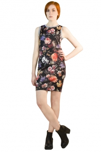 FFOMO Giselle Romantic Floral BodyCon Dress