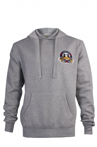 FFOMO Harry London Embroidered Patch Pullover Hoodie