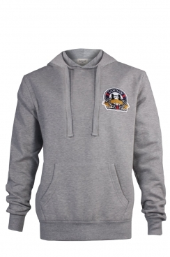 Harry London Embroidered Patch Pullover Hoodie