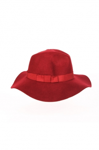 FFOMO Iona Fedora hat with ribbon trim.