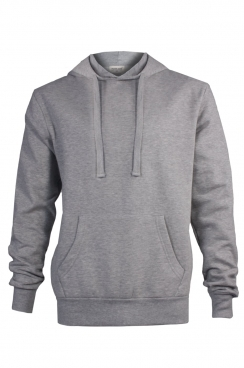 Isaac Simple Grey Pullover Hoodie