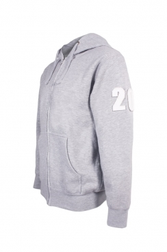 James 20 Applique Arm Patch Zipped Hoodie