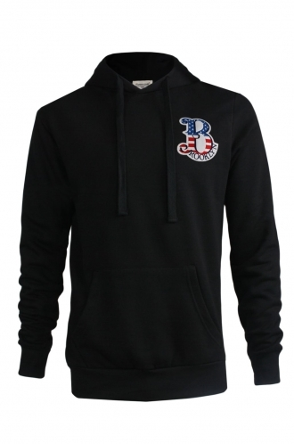FFOMO Jay Brooklyn Embroidered Patch Black Hoodie