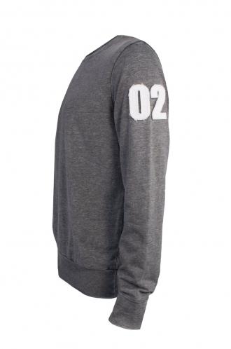FFOMO Joe 02 Applique Arm Patch Dark Grey Sweatshirt