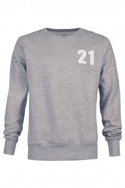 John 21 Applique Patch Sweatshirt