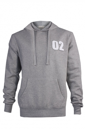 FFOMO Johnny 02 Applique Patch Pullover Hoodie