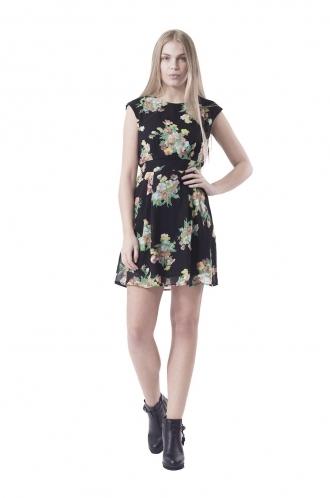 FFOMO Julliette Floral Skater Dress