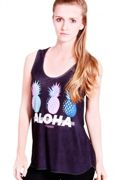 Kai Aloha pineapple sublimation vest