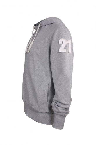 FFOMO Kenny 21 Applique Arm Patch Pullover Hoodie