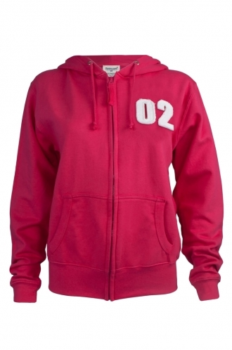 FFOMO Kesha 02 Applique Patch Fuchsia Hoodie