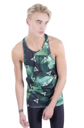 FFOMO Kian Triangle Print Stringer Vest
