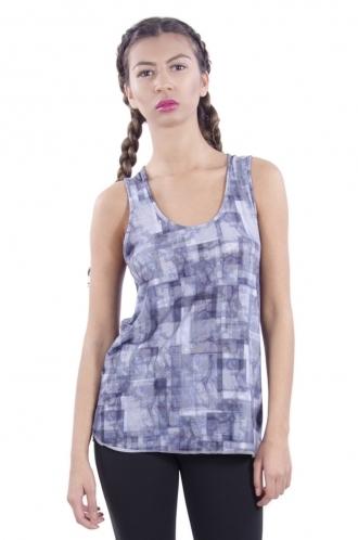 FFOMO Layla Squared Print Sporty Vest