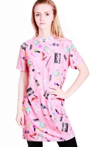 FFOMO Leena t-shirt dress