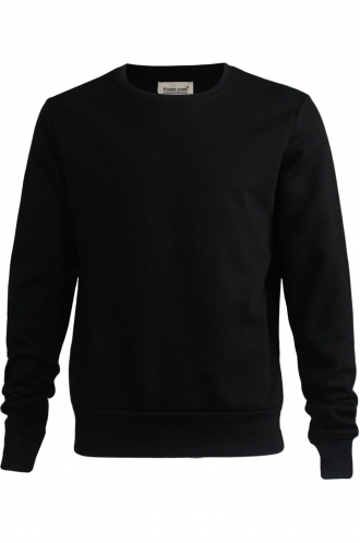 FFOMO Leo Simple Black Sweatshirt