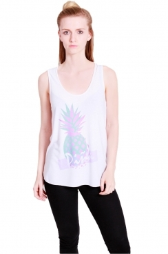 Libby pineapple printed vest